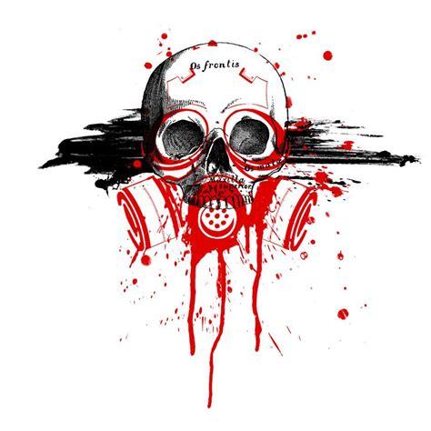 trash polka tattoo artists tattoos on trash polka skull and trash polka