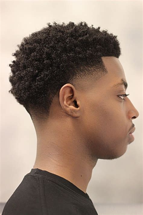 black men haircuts temp fades with curls mens hairstyles curly afro temp fade haircut mohawk