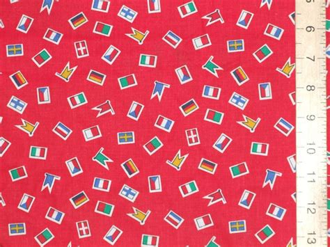 iron on computer printable cotton fabric printed pure cotton fabric flags