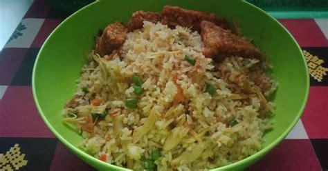 resep nasi goreng ayam suir enak  sederhana cookpad