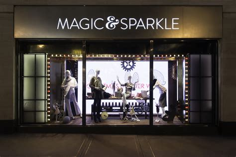 marks and spencer magic sparkle christmas window