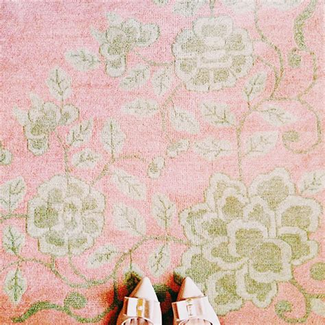 pink floral area rug at home a pale pink antique knotted rug this is
