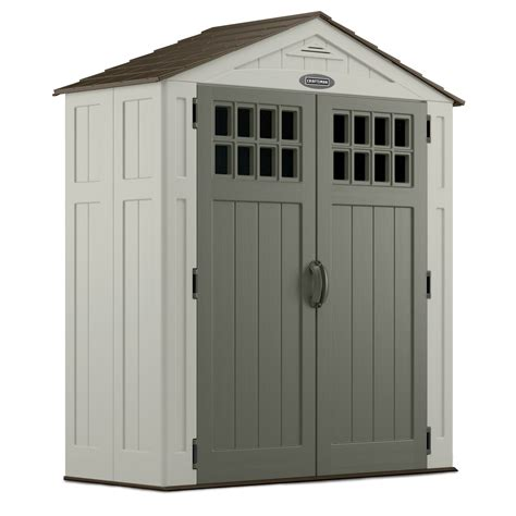Resin Storage Sheds Keter Factor 6 X 3 Ft Storage Shed