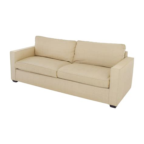 couch boards 65 off room and board room board beige two cushion