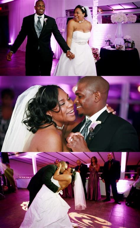 True Wedding Story: Our Purple Black and White Dream