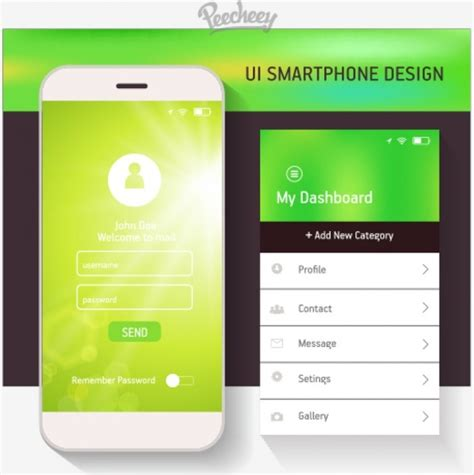 design html for mobile devices drop down menu design for mobile devices free vector in