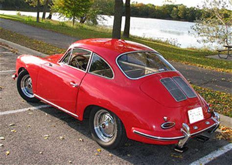 bathtub porsche for sale classic red 1963 porsche 356 for sale
