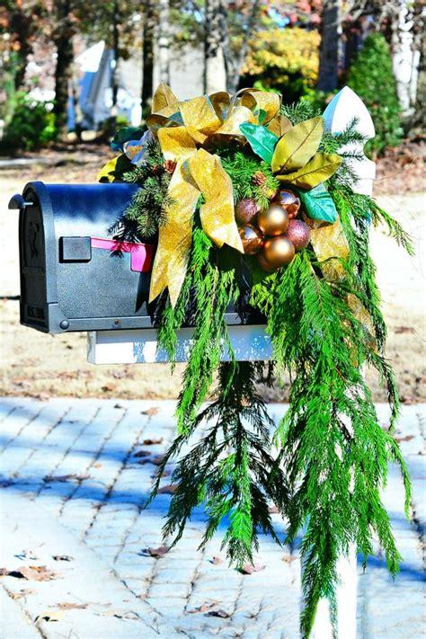 christmas mailbox decorating ideas hgtvs decorating