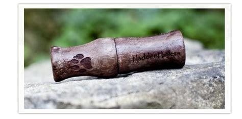 Handmade Coyote Calls - haddenhailers duck and goose calls