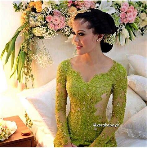 model kebaya padang vera kebaya hijau lumut inspirasi kebaya vani