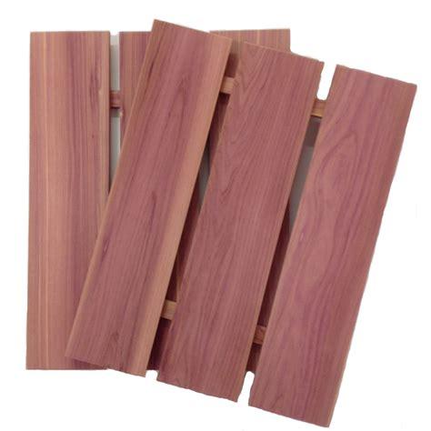 shop cedaramerica 12 in x 1 25 ft cedar shelf