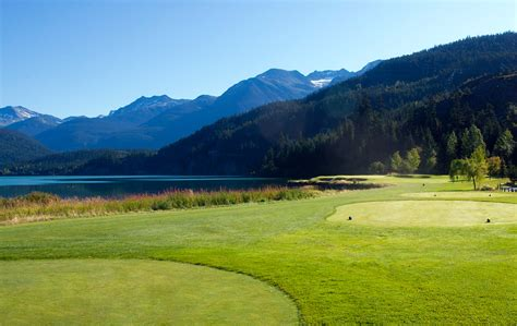 nicklaus north golf  photo gallery whistler golf