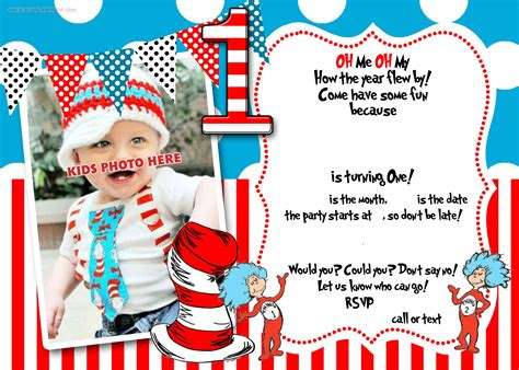 dr seuss post card templates dr seuss 1st birthday invitation template ideas