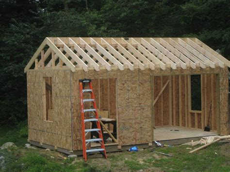 Wood Shed Construction Plans