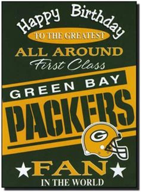 Green Bay Packers Happy Birthday Card