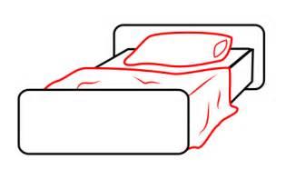 bett zeichnen drawing a bed