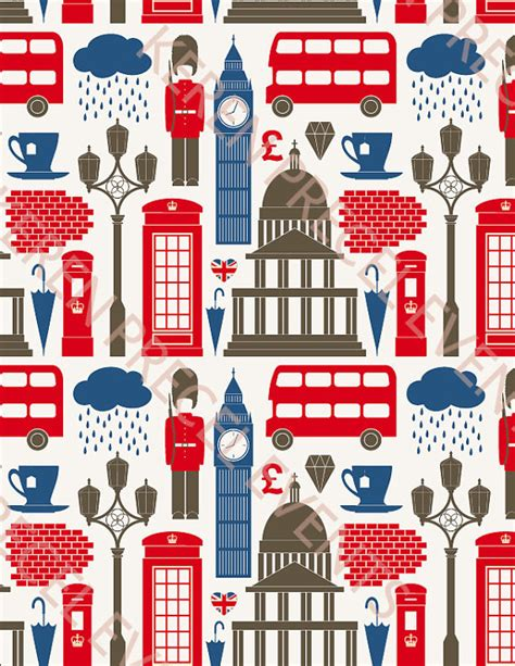 themed running events uk british party theme icons background british party