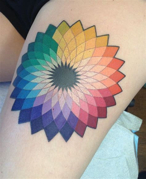 color wheel tattoo 25 best ideas about wheel on ship