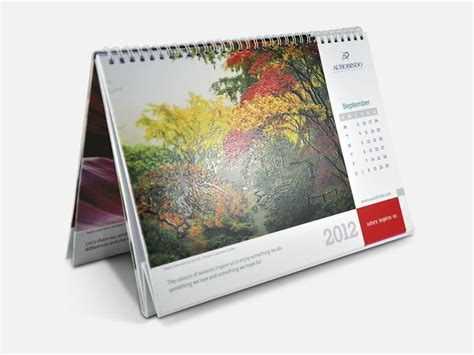 Table Calendar Aurobindo Table Calendar 2012 My