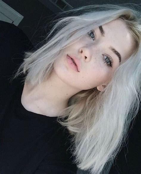 tumblr blonde hair and dark pubic hair alternative beautifuk beautiful beauty blonde image