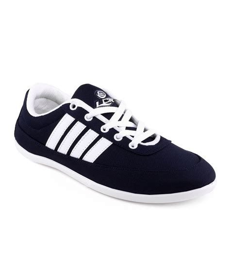 buy lancer navy blue casual shoes for snapdeal