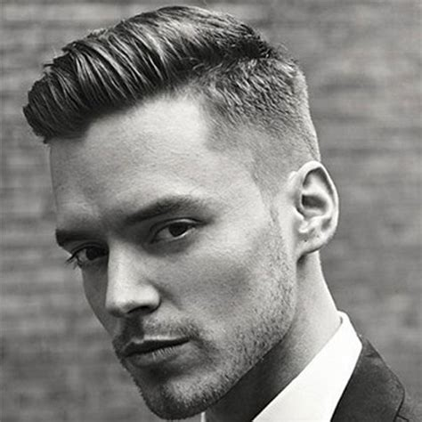 modern combover with no product taper fade haircut types of fades 2018