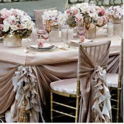 Wedding Decorations For Tables Pale Pink Ruffled Wedding Table Design Wedding Decorations 1910597 Weddbook