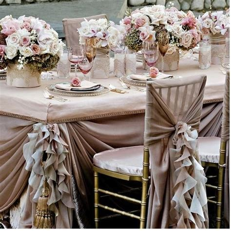 pale pink table cover pale pink ruffled wedding table design wedding