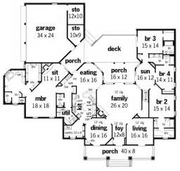 plantation home floor plans springhill plantation 4001 3608 4 bedrooms and 4 baths
