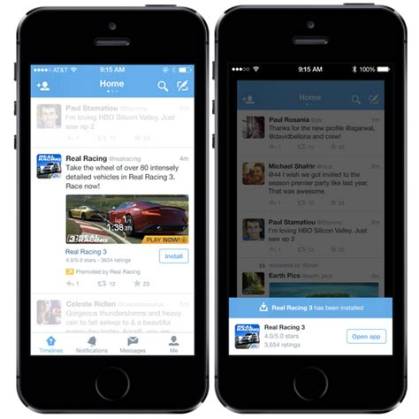 tweet mobile introducing mobile app promotion blogs