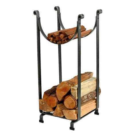 pleasant hearth adjustable firewood rack bracket kit