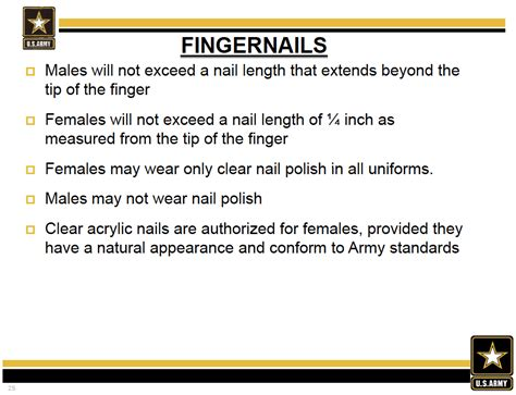 army male hair regulations 670 1 army tattoo regulations
