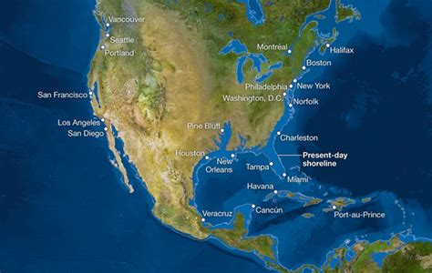 map world after glaciers melt what if all the melted