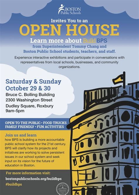 Bps School Calendar Boston Schools Build Bps Open House 10 29 16