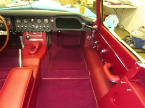 types of car upholstery 1965 jaguar e type quot part 2 quot by paul s custom interiors