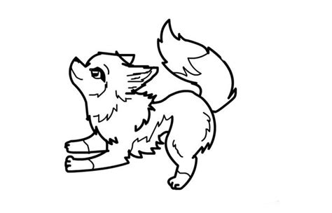 Coloring Pages Of Cute Wolves | wolf template animal templates free premium templates