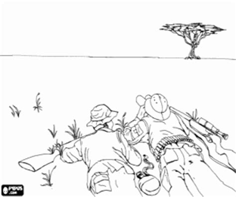 shooting hunting and fishing coloring pages printable games