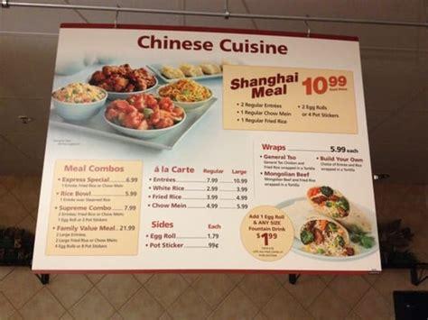 Chinese cuisine menu   Yelp