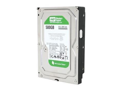 Harddisk Wd 500gb Green western digital wd green wd5000aads 500gb 32mb cache sata