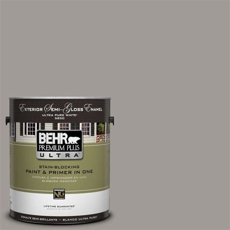 behr exterior paint reviews behr premium plus ultra 1 gal ul260 6 fashion gray semi