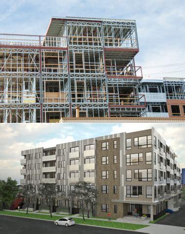light gauge steel structures pdf prescient completes world s first building constructed