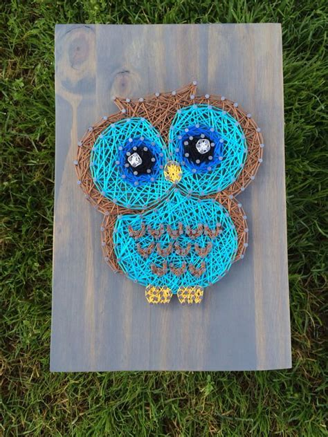 string art pattern owl pinterest the world s catalog of ideas