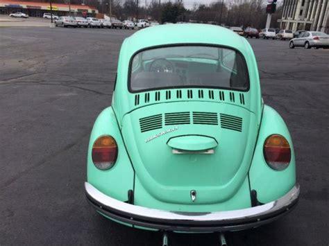 volkswagen super beetle mint green classic volkswagen beetle classic   sale