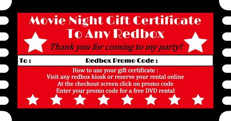 printable redbox gift tags redbox party favor sweetdesignsbyregan