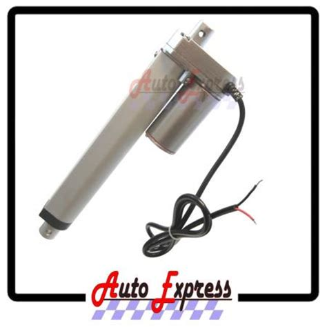 Actuator Adb 225 F 24v Replacement heavy duty 6 quot linear actuator stroke 225 pound max lift 12 or 24 volt dc ebay