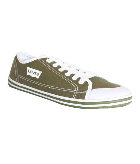 levis green canvas shoe shoes price in india buy levis