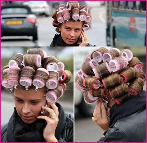 women in hair rollers hair rollers in public would you wear rollers in public