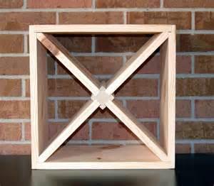 wine rack cabinet insert diy 15 wood wine rack kit square x insert kitchen bath