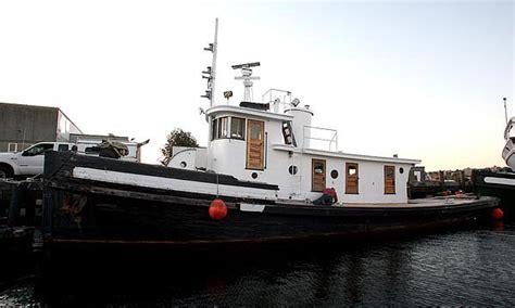 Renting A Tiny House tugboat tiny house