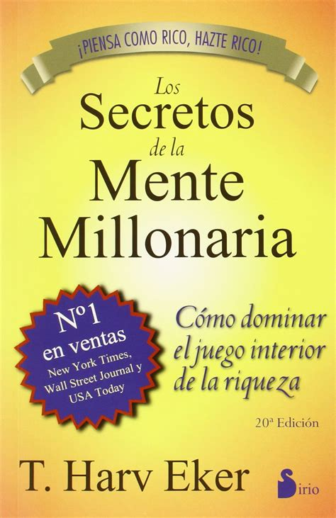 libro en la mente del los secretos de la mente millonaria 17 leccionesinvierta para ganar
